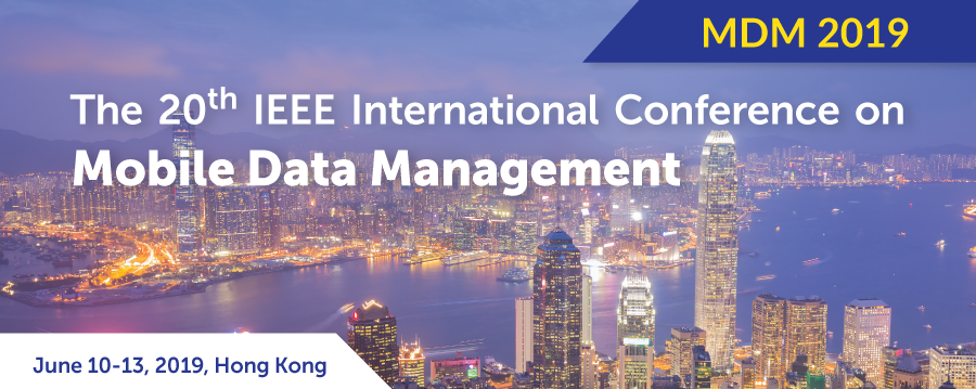 20th IEEE International Conference on Mobile Data Management