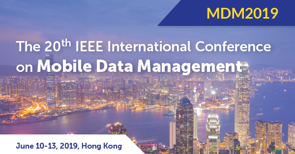 Mobile Data Management, IEEE MDM 2019